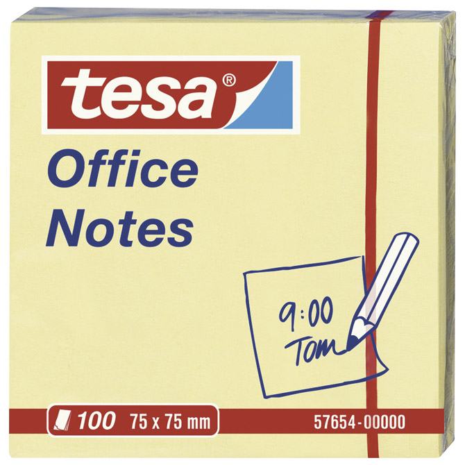 Blok samoljepljiv  75x75mm 100L Office notes Tesa 57654 žuti Cijena