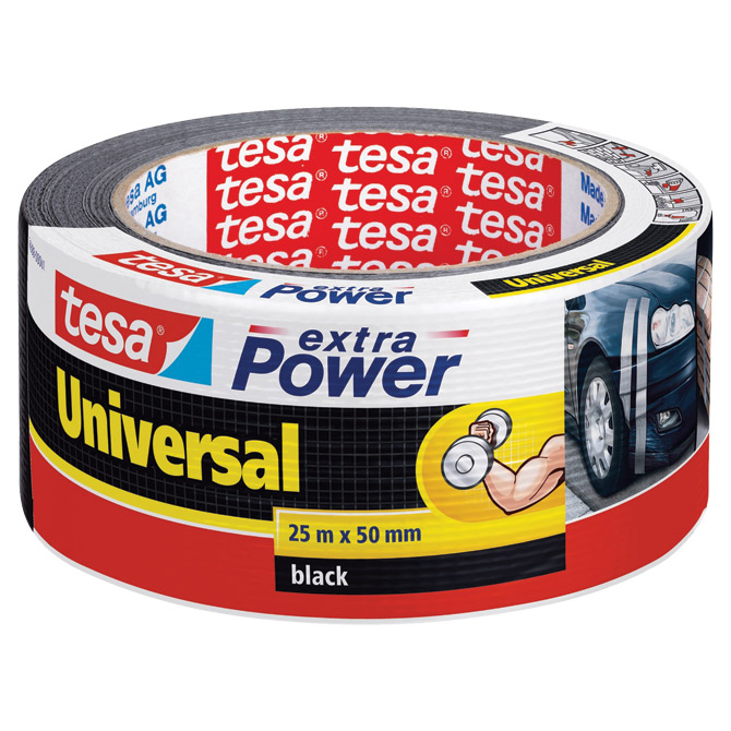 Traka ljepljiva 50mm/25m Power Tape Tesa 56388 crna blister Cijena
