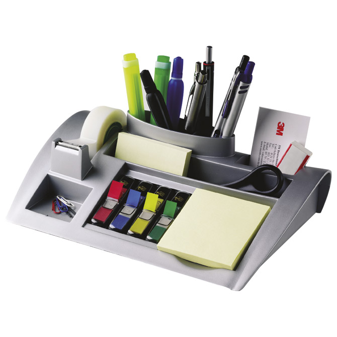Organizer stolni Post-it C50 3M.srebrni Cijena