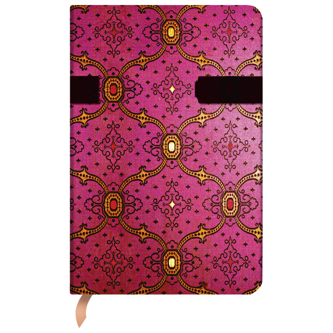 Notes  9,5x14cm-mini crte  88L kopča Fuchsia Paperblanks PB1420-1!! Cijena