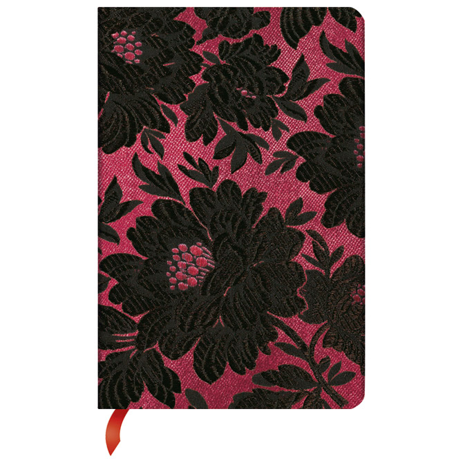 Notes  9,5x14cm-mini crte  88L s gumicom Black Dahlia Paperblanks PB2963-2 Cijena