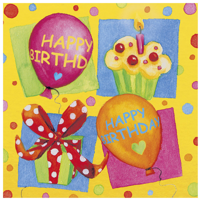 Salvete troslojne 33x33cm pk20 Birthday Party Herlitz 11095130 Cijena